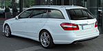 Mercedes E 250 CDI BlueEFFICIENCY T-Modell Avantgarde AMG-Sportpaket (S212) rear 20100704.jpg