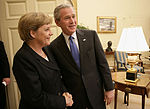 Merkel and Bush May 2006 1.jpg