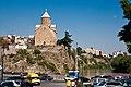 Metekhi church in Tbilisi1.jpg
