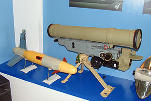 Metis-M1 with 9М131М missile at Engineering Technologies 2012.jpg