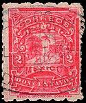 Mexico 1896-97 2c perf 6x12 Sc258b used.jpg
