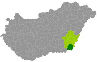 Mezőkovácsháza District Districts of Hungary in Békés