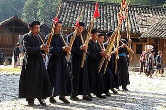 Music of Guizhou - Miao musicians of Guizhou