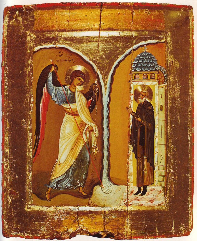 Michael Miracle Icon Sinai 12th century