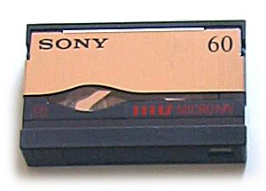 MicroMV - MicroMV videocassette