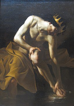 Midas Washing at the Source of the Pactolus by Bartolomeo Manfredi, c. 1617-19