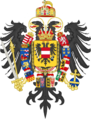 Middle Coat of Arms of Francis II, Holy Roman Emperor (1804-1806).png