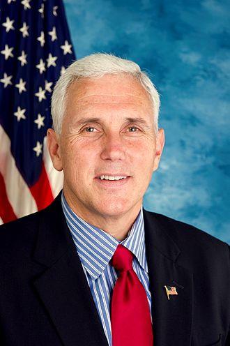 Mike Pence - Pence as a U.S. Congressman, 2010