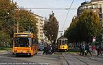 Milano via Bassini filobus tram.jpg