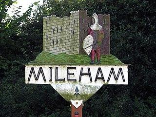 Mileham Human settlement in England