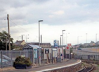 Milford Haven railway station - Image: Milford Haven Station