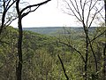 Mill Creek watershed looking southwest towards Walls of Jericho from trail overlook by Todd Crabtree (8497631505).jpg