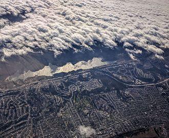 San Andreas Creek - San Andreas Creek's San Andreas Reservoir