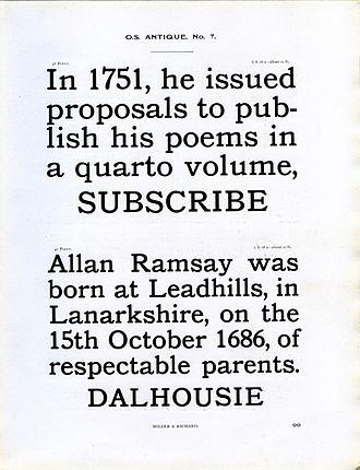 Slab serif - Image: Miller and Richard Oldstyle Antique type specimen (16146280364)