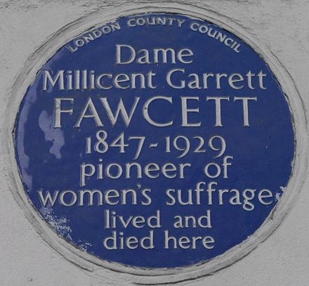 millicent garrett fawcett unfit to be