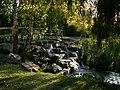 Mini waterfalls in Stationers Park - geograph.org.uk - 1559607.jpg