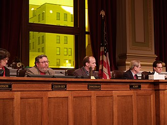 Minneapolis City Council - City Council meeting in 2005