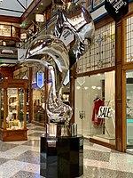 Mirage sculpture by Gidon Graetz at the Brisbane Arcade 01.jpg