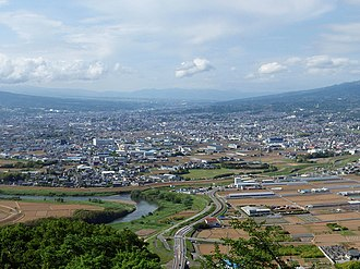 Mishima, Shizuoka - Mishima City from south