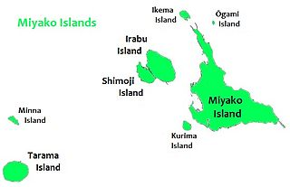 group of islands in Okinawa Prefecture, Japan
