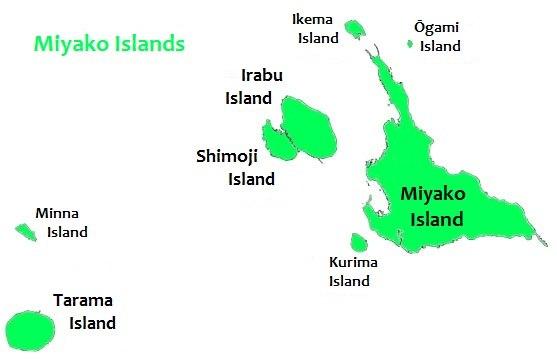 Miyako map
