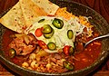 Mmm... posole and some garnishes (6261410735).jpg