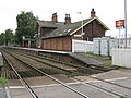 Mobberley Station - Chester Side - geograph.org.uk - 1494614.jpg