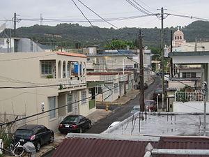 Moca, Puerto Rico - Moca Pueblo, August 2006