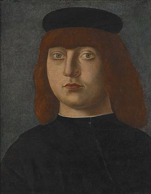 Girolamo Mocetto - Image: Mocetto portrait of a gentleman