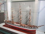Model of Wanderer (ship, 1891), Merseyside Maritime Museum (1).JPG