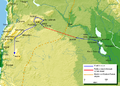 Mohammad adil-Khalid's(r.a) route to Syria.PNG