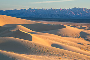 Mojave Trails National Monument - Image: Mojave Trails National Monument dunes