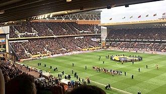Molineux Stadium - Image: Molineux Stadium, Wolverhampton, 2018