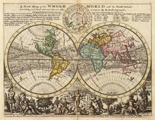 List Of Cartographers Wikipedia - 17th century world map