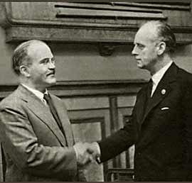 Molotov with Ribbentrop