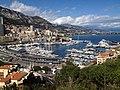Monaco harbour - Hafen von Monaco (17985155924).jpg