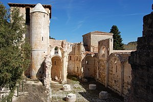 Monastery of San Pedro de Arlanza - Ruins of San Pedro de Arlanza today