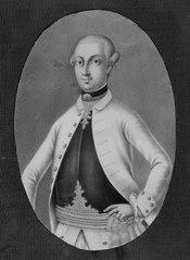 Monsieur de Gerden, guvernör i Luxemburg (i Gripsholmsinventariet kallad Josef II av Österriike)