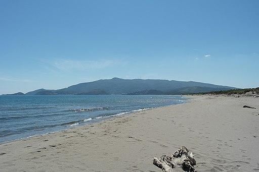 Monte Argentario, spiaggia Feniglia