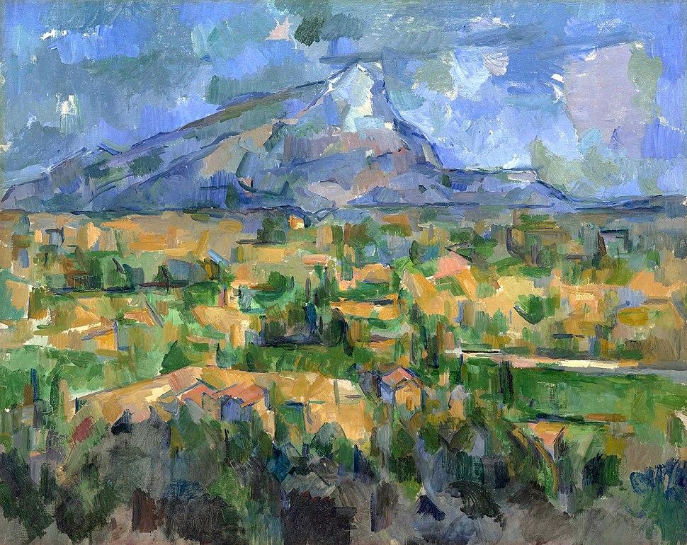 Montagne Sainte-Victoire, par Paul Cézanne 108