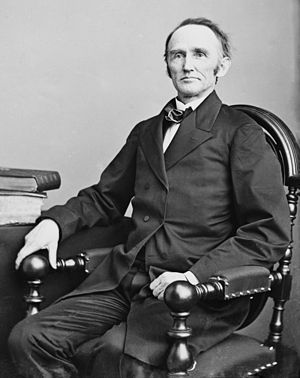 Montgomery Blair - Image: Montgomery Blair, photo three quarters length seated