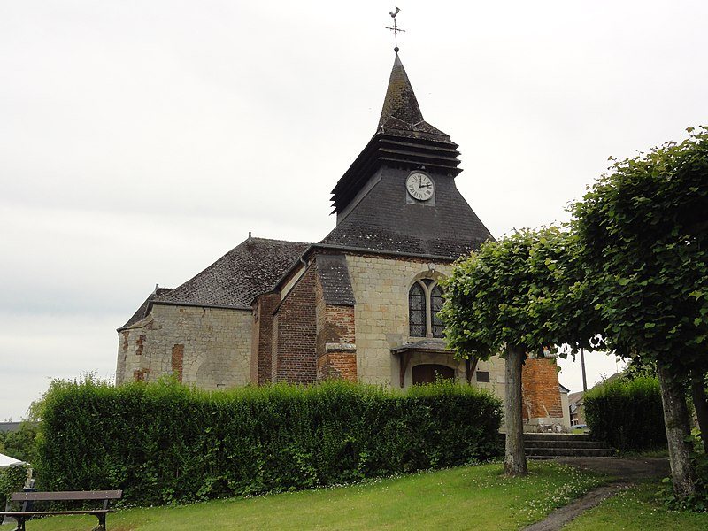 Montloué (Aisne) église