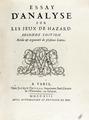 Montmort - Essay d'analyse sur les jeux de hazard, 1713 - 276.tif