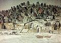Montréal, vers 1800. Lancienne ville, depuis le fleuve Saint-Laurent. (6800600558).jpg