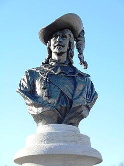 Buste de Pierre Dugua de Mons