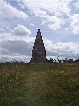Monument on Pincyn Llys - geograph.org.uk - 1587669