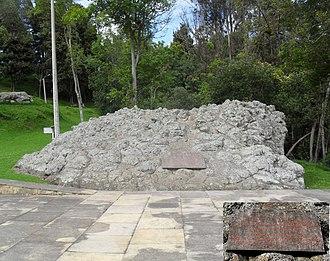 British Legions - Monument honouring the British Legions at the Bridge of Boyacá.