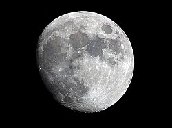 Månen sett frå Jorda