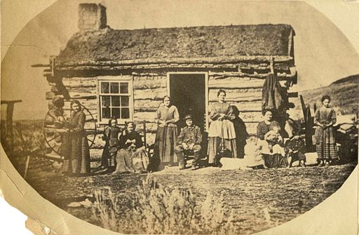 Mormon Family (Russell's Polygamy in Low Life)
