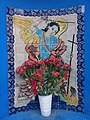 Mosaico de San Miguel en la Plazuela de los Sapos en Puebla.jpg